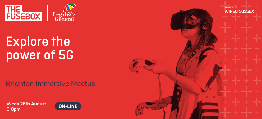 Brighton Immersive Meetup: Powering Immersive Tech with 5G image