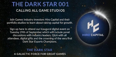 The Dark Star: Creating Capital For Growth In The Games Industry