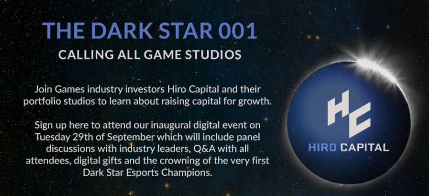 The Dark Star: Creating Capital For Growth In The Games Industry image