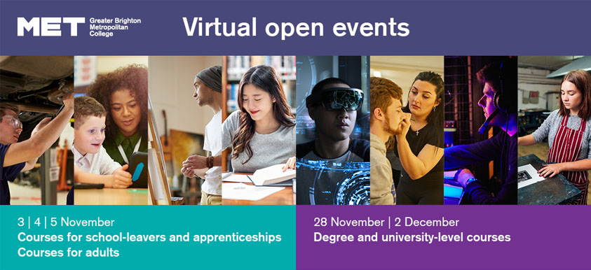 Virtual Open Event - Degree & University Level Courses image