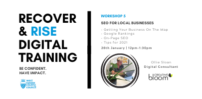 West Sussex Recover & Rise #5: Local SEO | Training