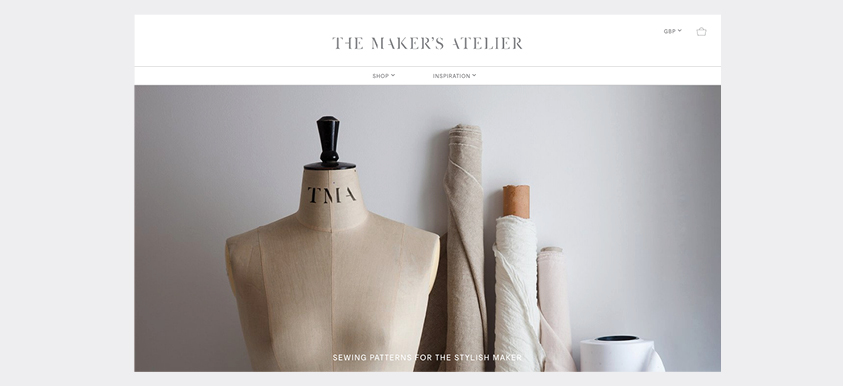 New Ecommerce Site & Magazine for The Maker's Atelier