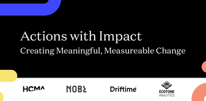 Actions with Impact: Creating Meaningful, Measurable Change.