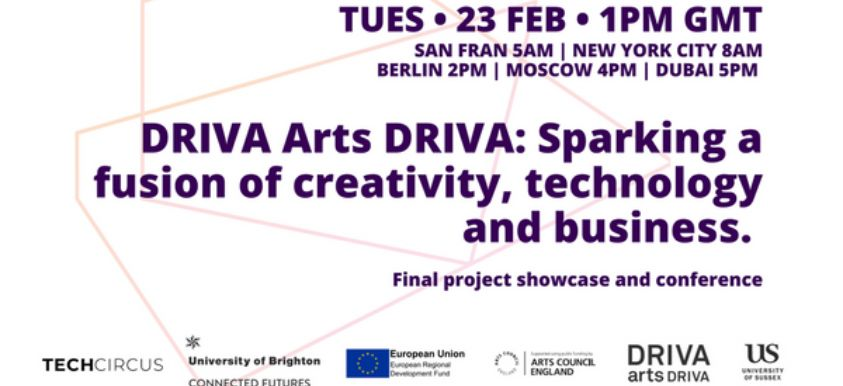 DRIVA Arts Driva: Final Showcase & Conference image