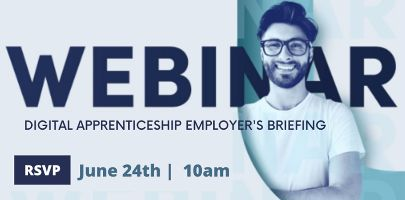 Find out about Digital Apprenticeships - Employer's Briefing Webinar