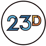 23 Digital logo