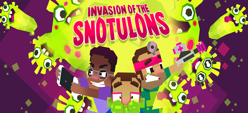 Operation Ouch! Invasion of the Snotulons!