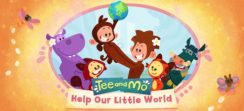Tee and Mo: Help Our Little World header image