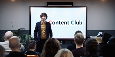 Make GREAT Content: Talks, Workshop & Networking!