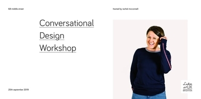 Conversational Design Workshop
