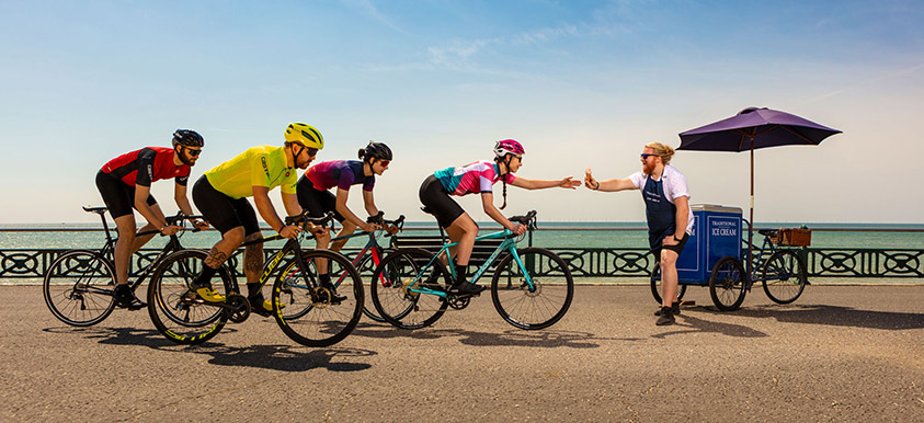Evans Cycles Summer Campaign
