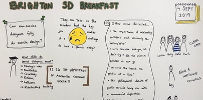 Brighton Service Design Breakfast
