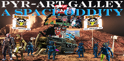 Pyr-Art Gallery - A Space Oddity