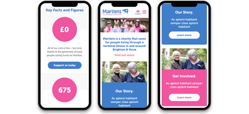 How Pragmatic increased donations for local charity, Martlets footer image