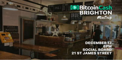 Brighton Bitcoin Cash Meetup