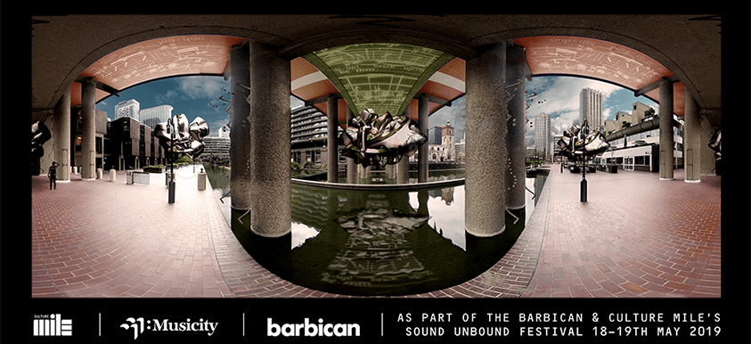Barbican Musicity Festival - 360 VR location based Installation