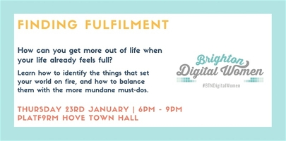 Brighton Digital Women: Finding Fulfilment