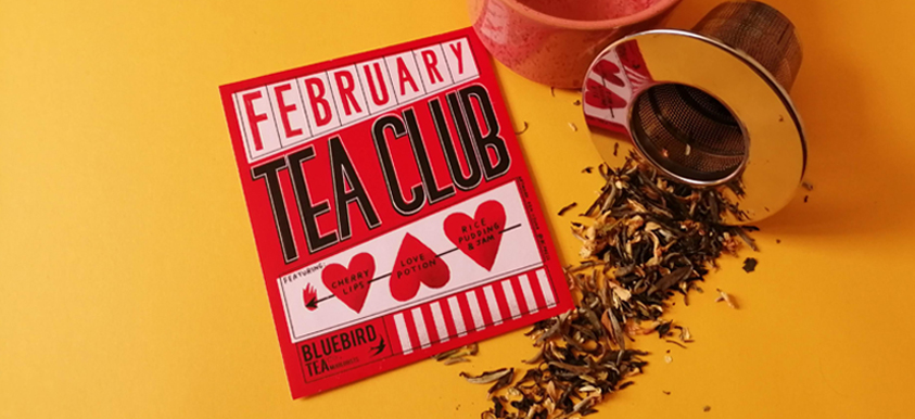 A very Valentine's-y tea subscription box!