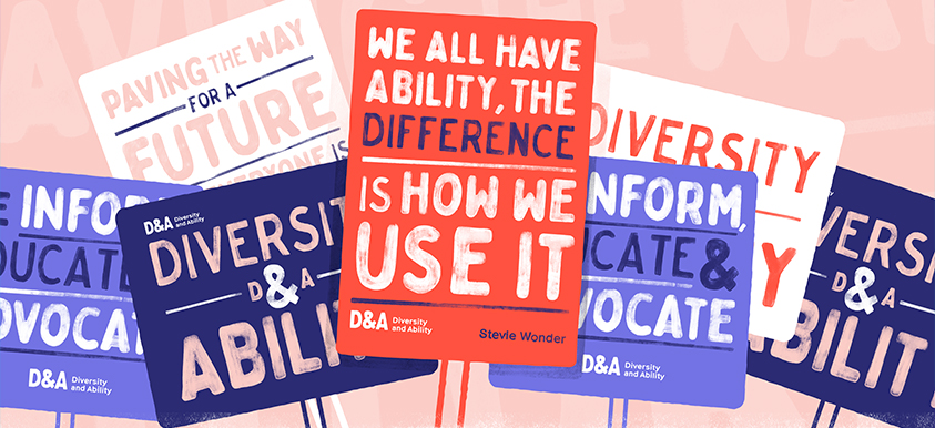 Redefining an activist brand | D&A brand and website