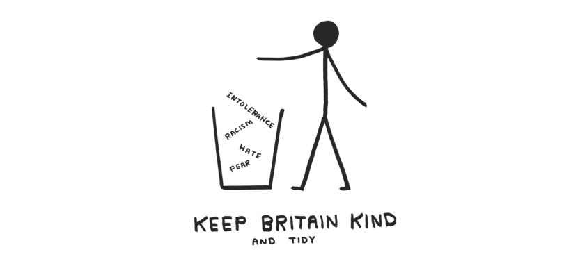 Liberty with David Shrigley: Keep Britain Kind
