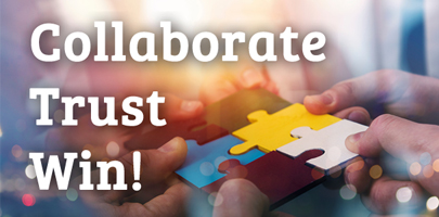 POSTPONED: Collaborate, Trust, Win!