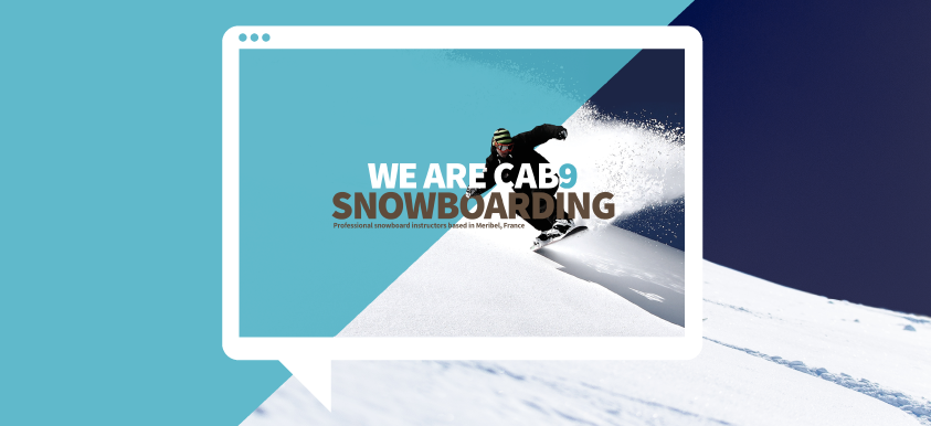 Cab9 Snowboarding Branding and Web Design
