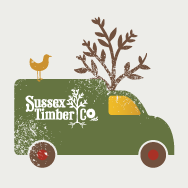 Sussex Timber Company Branding, Web Design image 1