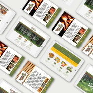 Sussex Timber Company Branding, Web Design image 3