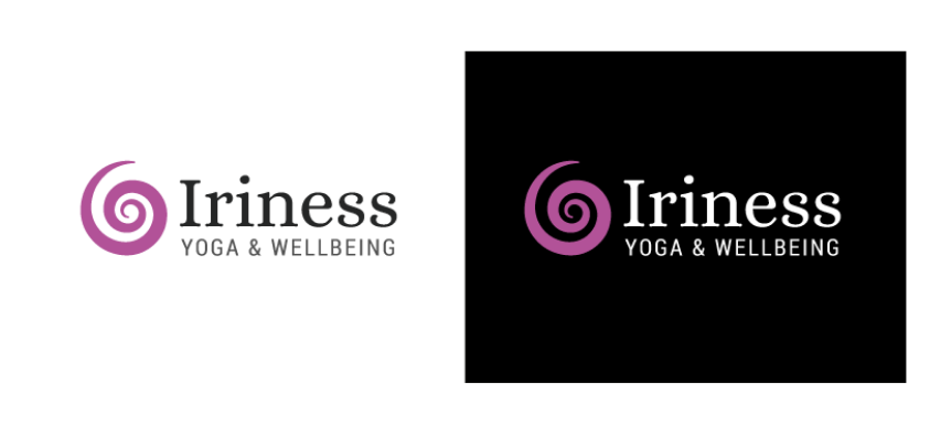 Iriness Yoga & Wellbeing: Logo & Style Guide Package
