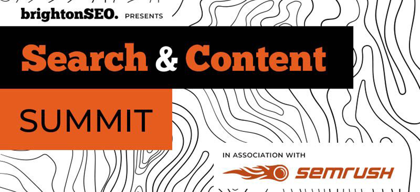 Search & Content Summit image
