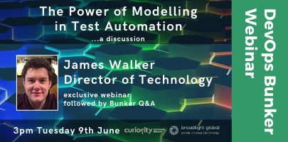"Bunker Webinar - ""The Power of Modelling in Test Automation"""