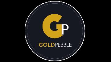 Gold Pebble logo